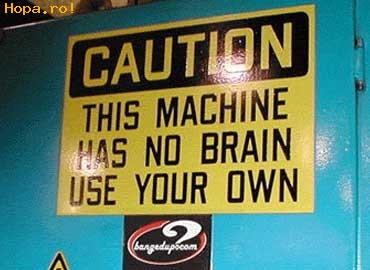 Anunturi - Folositi propriul creier