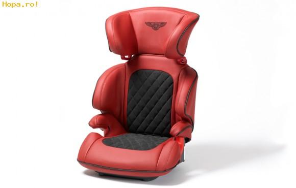 Auto Moto - Bentley lanseaza cel mai luxos scaun de copil din lume