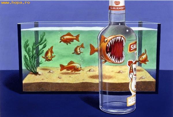Reclame - Vodka te face mai puternic