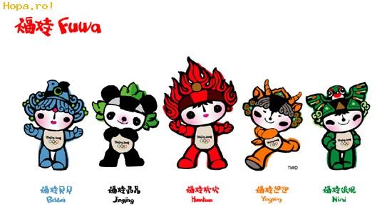 Jocurilor Olimpice de la Beijing - Mascote Beijing 2008 China