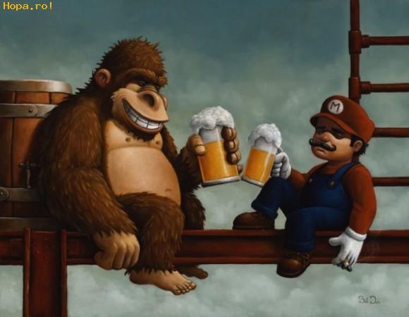 Desene animate - Hai noroc Mario