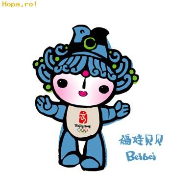 Jocurilor Olimpice de la Beijing - Mascote Beijing 2008 China - Beibei