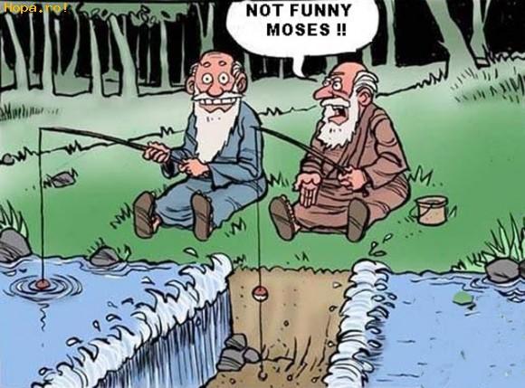 Caricaturi - Si Sfintii se joaca...
