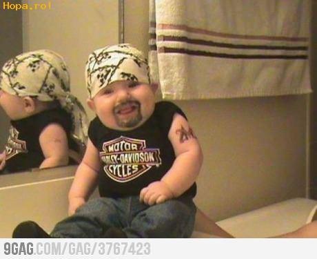 Copii - Bebelus gangster