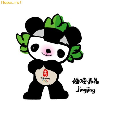 Jocurilor Olimpice de la Beijing - Mascote Beijing 2008 China - Jingjing
