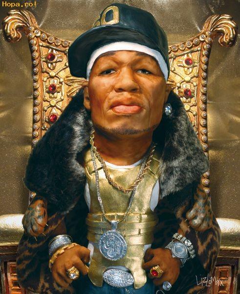 Caricaturi de personaje - 50 Cent