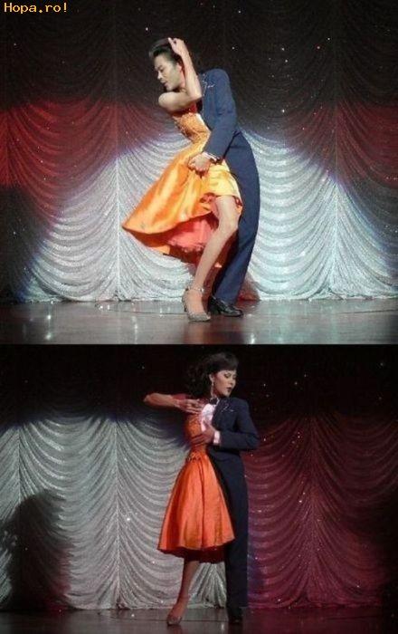 Diverse - Dansatorul cu doua fete