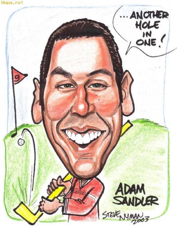 Caricaturi de personaje - Adam Sandler