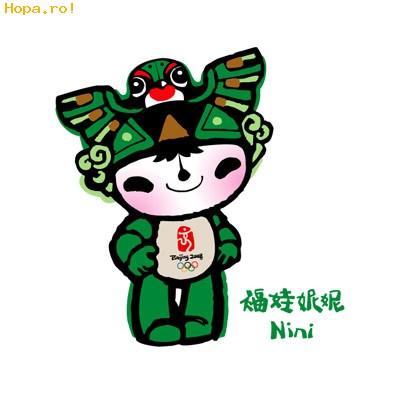 Jocurilor Olimpice de la Beijing - Mascote Beijing 2008 China - Nini