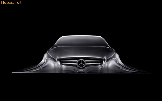 Auto Moto - Sculptura care celebreaza filosofia de design Mercedes