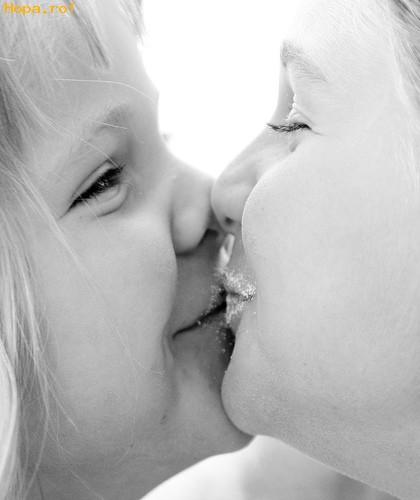 Copii - Un sarut dulce