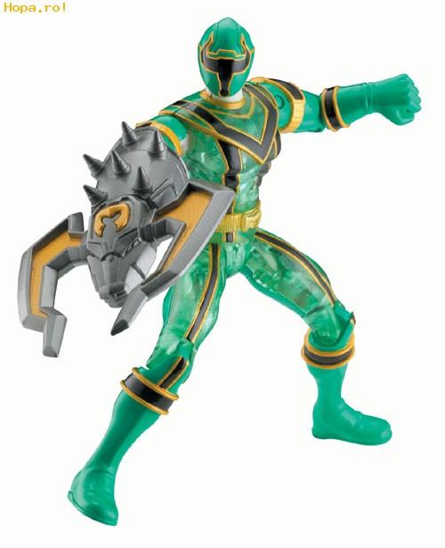 Eroii Power Rangers - Crystal Action Green
