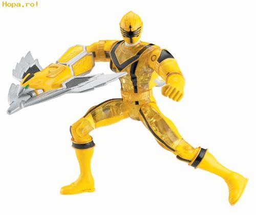 Eroii Power Rangers - Crystal Action Yellow