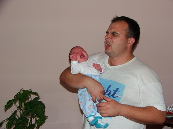 Copii - tatal si fiul Rikary