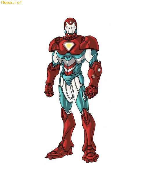 Desene animate - Iron Man, Capitanul America