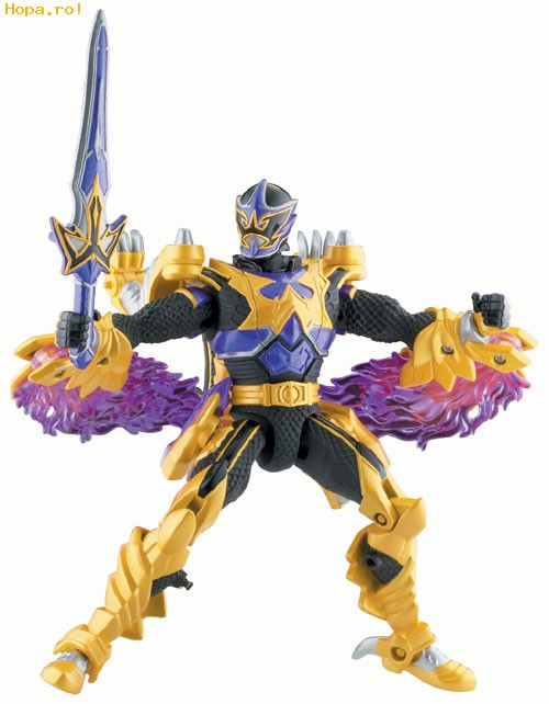 Eroii Power Rangers - Knight Wolf