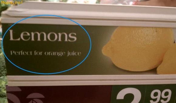 Animale - Avem lamai pentru suc de portocale
