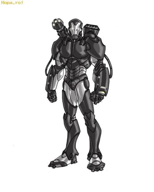 Desene animate - Iron Man