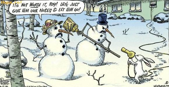 De Sarbatori - Snowman