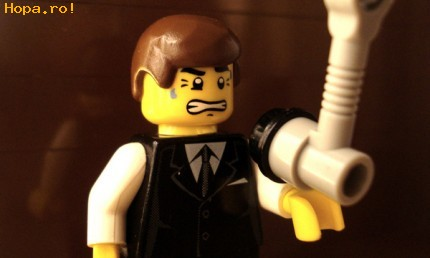 Jucarii haioase - The King's Speech - lego