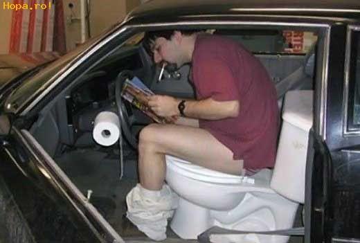 Auto Moto - WC in masina