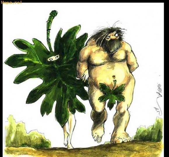 Caricaturi - Adam si Eva la arabi
