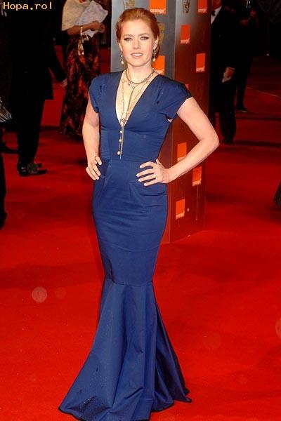 Celebritati - Premiile Bafta 2009 - Amy Adams