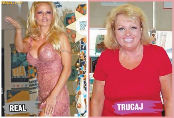 Celebritati - Asa ar fi aratat Pamela daca nu ar fi fost vedeta