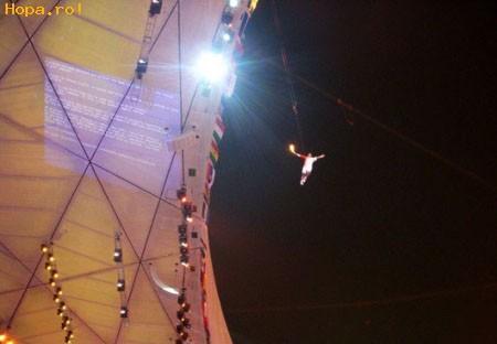Jocurilor Olimpice de la Beijing - Blue Screen la Jocurile  Olimpice