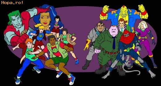 Desene animate - Captain Planet