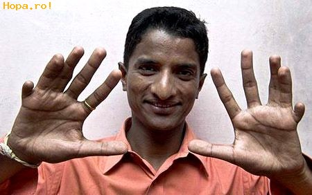 Ciudate - Cate degete sunt?