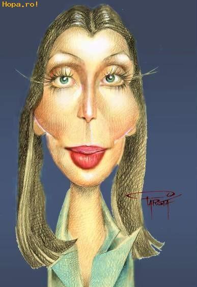 Caricaturi de personaje - Cher