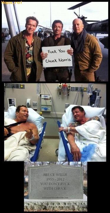 Celebritati - Nu te lua de Chuck Norris!