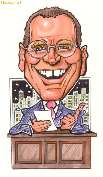 Caricaturi de personaje - David Latterman