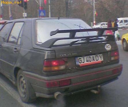 Din Romania - Dublu eleron