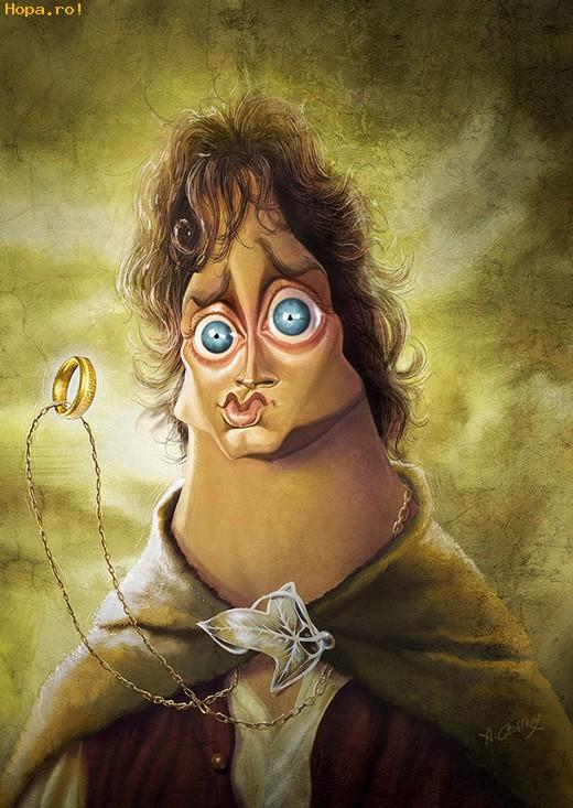 Caricaturi de personaje - Frodo