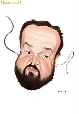 Caricaturi de personaje - Ioan Gyuri Pascu