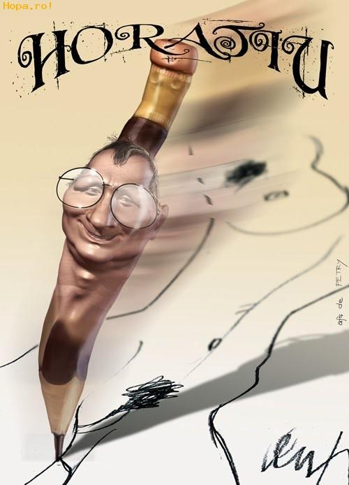Caricaturi de personaje - Horatiu Malaiele