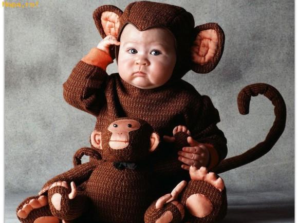 Copii - O maimuta