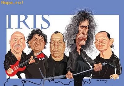 Caricaturi de personaje - Iris