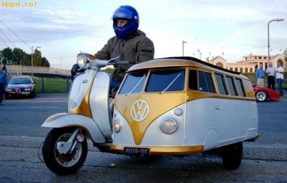 Auto Moto - Motocicleta cu atas