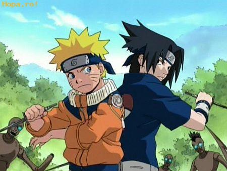 Desene animate - Naruto-Sasuke
