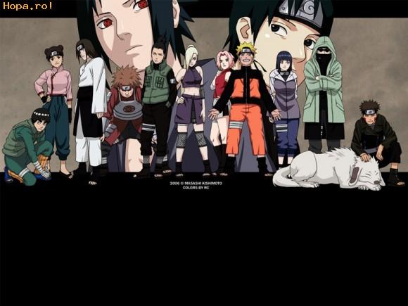 Desene animate - Naruto vs. Sasuke
