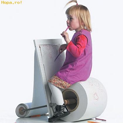 Ciudate - Scaun pentru copii talentati