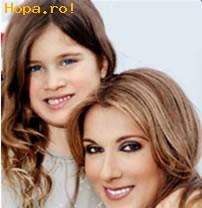 Celebritati - Celine Dion si Fiul sau Rene