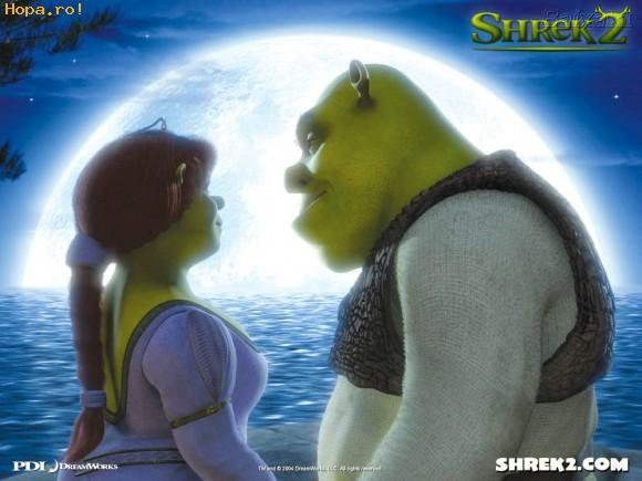 Desene animate - Shrek si Fiona