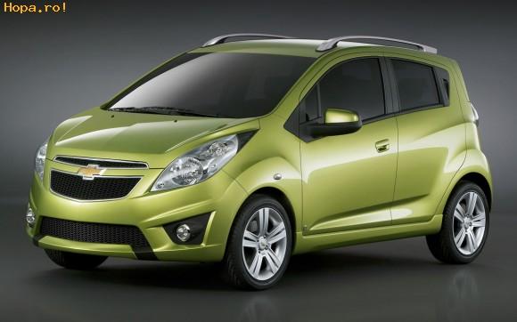 Auto Moto - Noul model Chevrolet Spark, viitorul Matiz