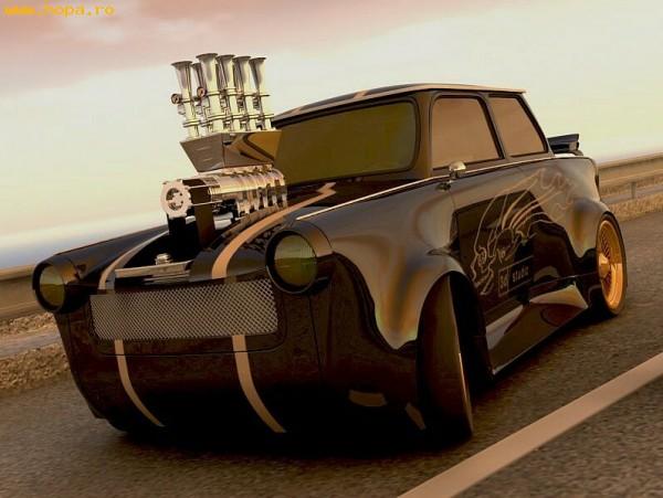 Auto Moto - Super trabant !!!