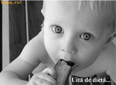Copii - Uita de dieta