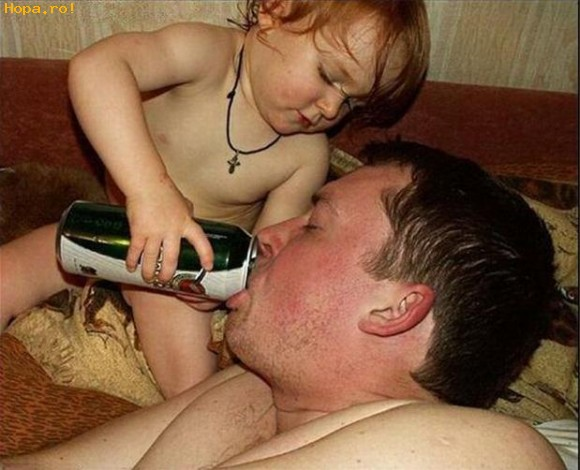 Copii - Ah, ce baiat bun are tata